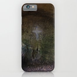 The hermit's cross iPhone Case