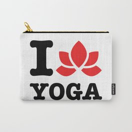 I love yoga Carry-All Pouch