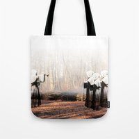coven Tote Bags featuring Coven by Infaustus