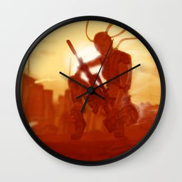 Manhattan Bot Sniper Wall Clock