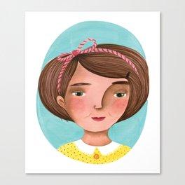 Sweet sadness Canvas Print