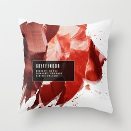 Gryffindor Nature Throw Pillow