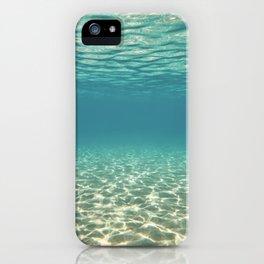 Subaquamarine iPhone Case