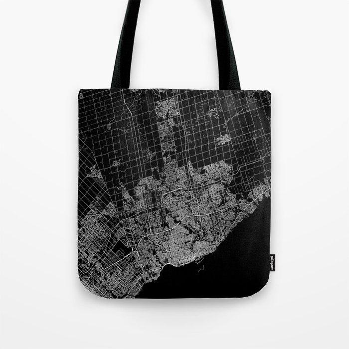 toronto map Tote Bag