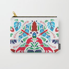 Jurassic Folk Carry-All Pouch
