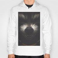 rocket raccoon Hoodies featuring ROCKET RACCOON by yurishwedoff