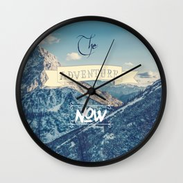 The adventure is now Wall Clock