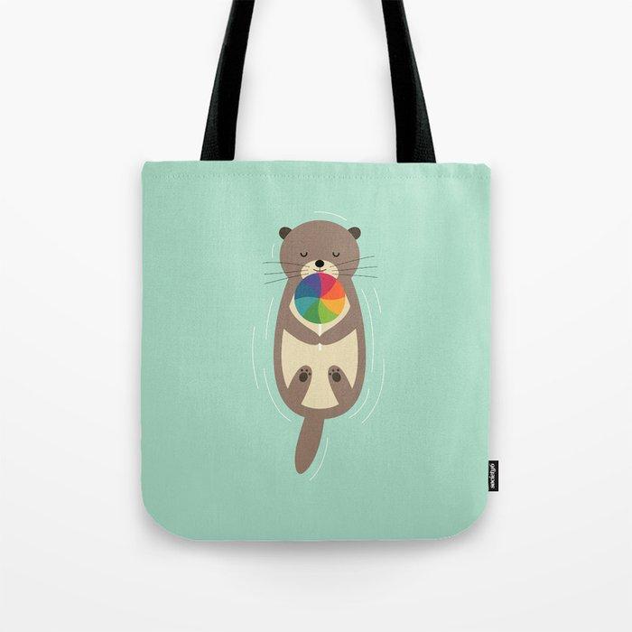 Sweet Otter Tote Bag