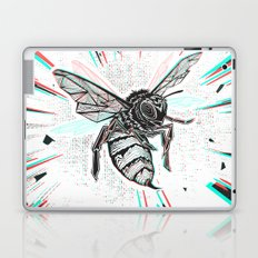 This wasp is pissed! Laptop & iPad Skin