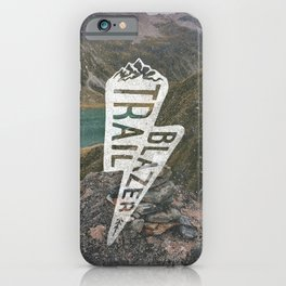 Trail Blazer iPhone Case