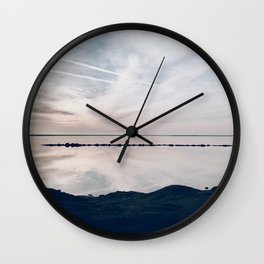 BLUE MOON XV / Alviso, California Wall Clock