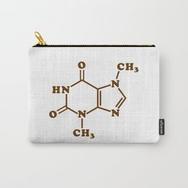 Chocolate Theobromine Molecule Chemical Formula Carry-All Pouch