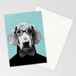 Mr Italian Bloodhound the Hipster Stationery Cards