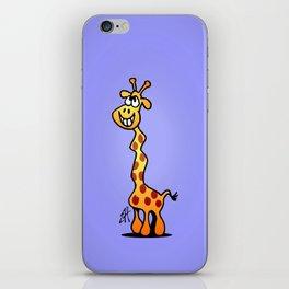 Joyfull Giraffe iPhone Skin