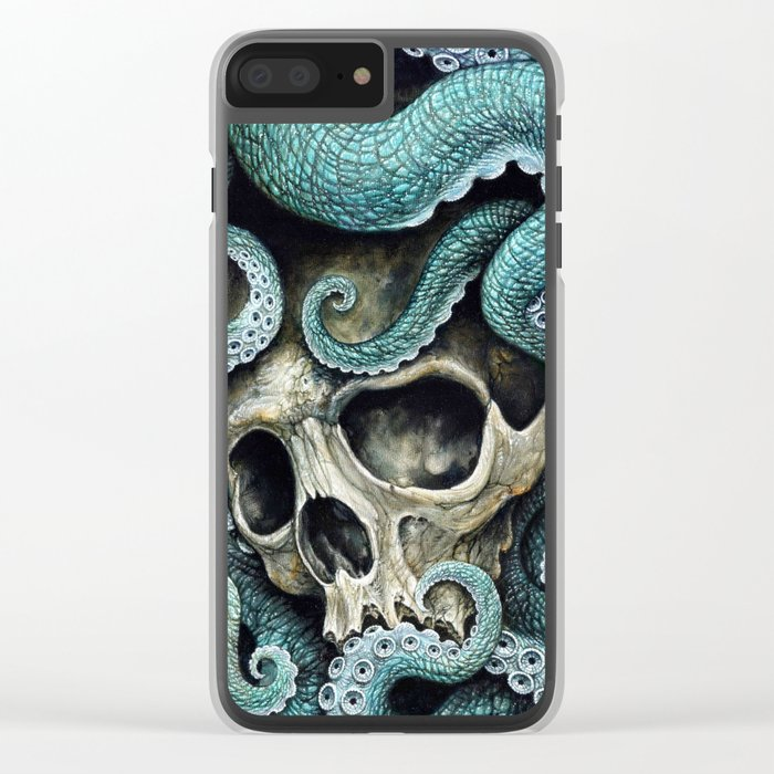 Please my love, don't die so far from the sea... Clear iPhone Case
