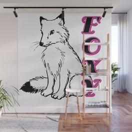 Foxy Lady Wall Mural