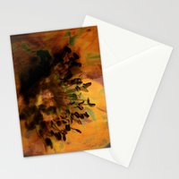 Earth Tones Flower Love Stationery Cards