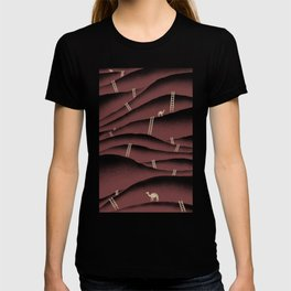 Camels and ladders T-shirt