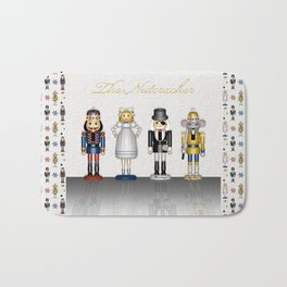 The Nutcracker Bath Mat