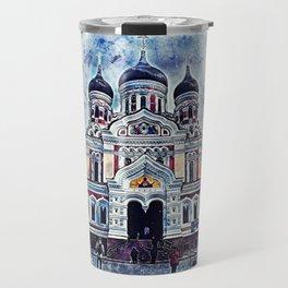 Alexander Nevsky Cathedral Tallinn Travel Mug