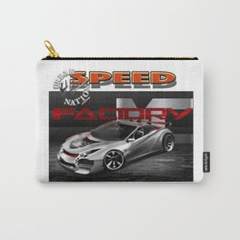 Race car - by HS Design Carry-All Pouch