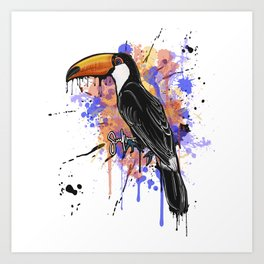 Prince- Toco Toucan Art Print