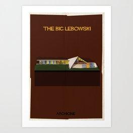 The big lebowski Directed by Joel Coen Art Print