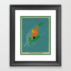 Aquaman Framed Art Print