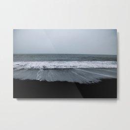 Reynisfjara volcanic beach Metal Print