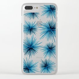 Spiny Sea Urchins Clear iPhone Case