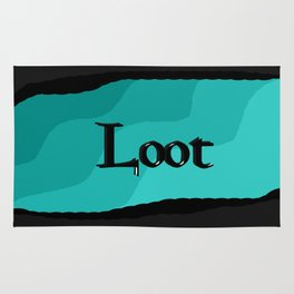 Loot: Color Sky-Blue Rug