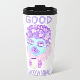 Good Meowning Travel Mug