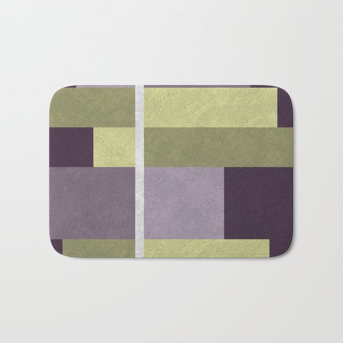 Geometric Marble 05 (abstract) Bath Mat