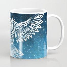 Heavenly Owl // Space Mosaic Coffee Mug