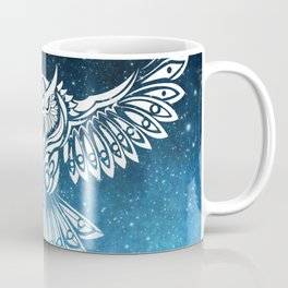 Heavenly Owl // Space Mosaic Coffee Mug