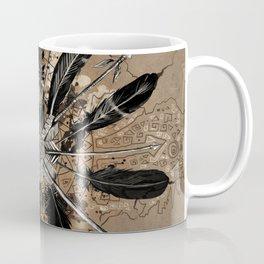 native vintage mandala Coffee Mug