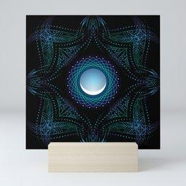 energy moon. part two Mini Art Print