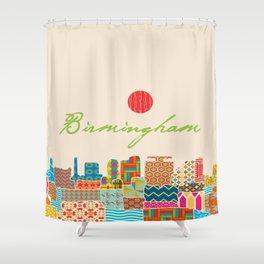 Birmingham Patchwork Shower Curtain