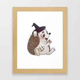 Prickly Witch Framed Art Print