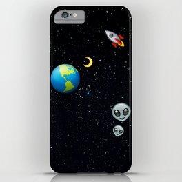 Space Emoji iPhone Case