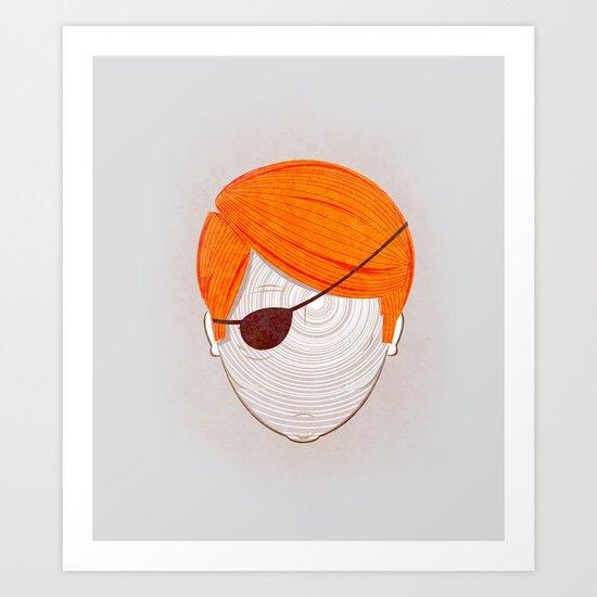 Descry Art Print