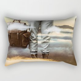 Reach Out Rectangular Pillow