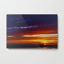Liverpool Bay at sunset Metal Print