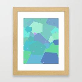 Pentagonal Hurrah  Framed Art Print
