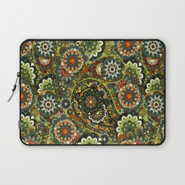 Floral Paisley Pattern Laptop Sleeve