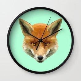 Poly the Fox Wall Clock
