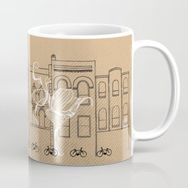Queen Street Canvas Coffee Mug