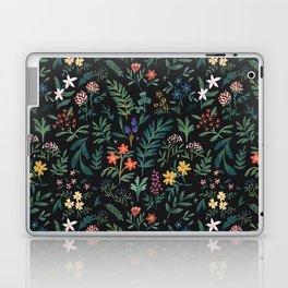 Woodland Floral Laptop & iPad Skin