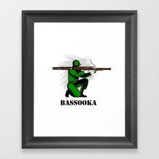 Bassoon Bassooka Framed Art Print