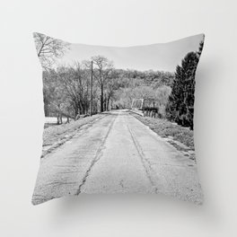 Long Road To Ruin Throw Pillow